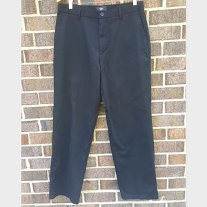 Dockers Men's Black Casual Pants Slacks Neutral